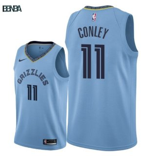 Maillot NBA Memphis Grizzlies NO.11 Mike Conley Bleu Statement 2018-19 Outlet