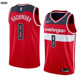 Maillot NBA Nike Washington Wizards NO.8 Rui Hachimura Rouge Icon 2019-20 Outlet