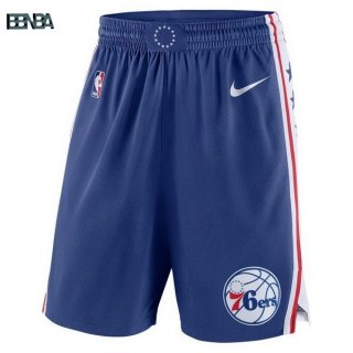Pantalon NBA Philadelphia 76ers Nike Bleu Outlet