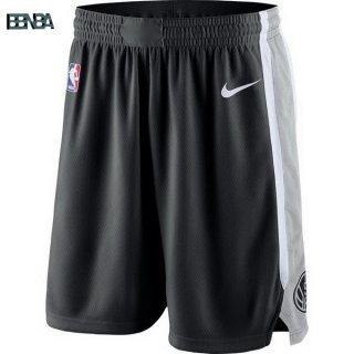 Pantalon NBA Brooklyn Nets Nike Gris Outlet