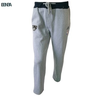 Survetement Pantalon NBA Brooklyn Nets Gris Outlet