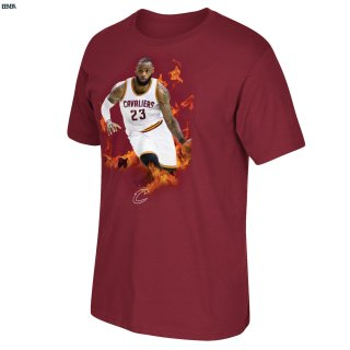 T-Shirt NBA Cleveland Cavaliers 2017 Lebron James Outlet