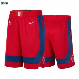 Pantalon NBA Detroit Pistons Nike Rouge Ville 2019-20 Outlet