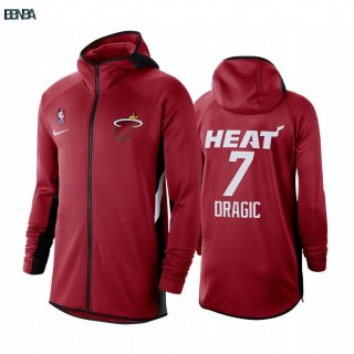 Hoodies NBA Miami Heat NO.7 Goran Dragic Rouge Outlet