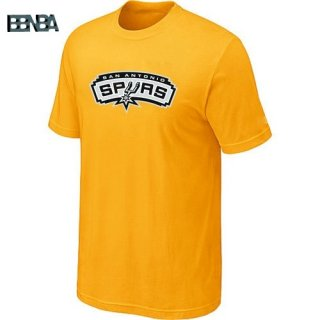 T-Shirt NBA San Antonio Spurs Jaune Outlet