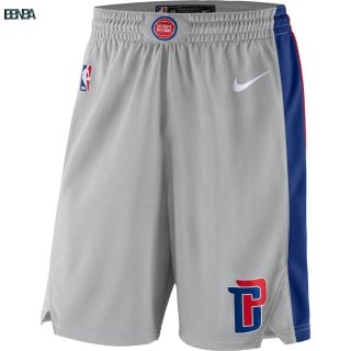 Pantalon NBA Detroit Pistons Gris 2018 Outlet