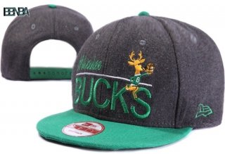 Bonnet NBA Milwaukee Bucks Vert Gris Outlet