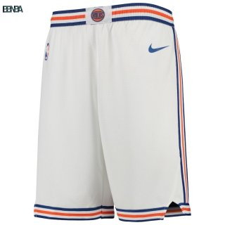 Pantalon NBA Enfant New York Knicks Nike Blanc Statement 2018 Outlet