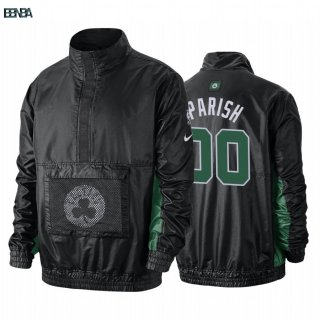 Survetement NBA Boston Celtics NO.00 Robert Parish Noir Outlet