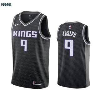 Maillot NBA Nike Sacramento Kings NO.9 Cory Joseph Noir Statement 2019-20 Outlet