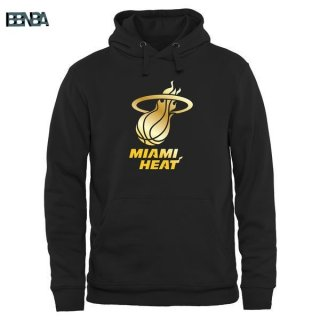 Hoodies NBA Miami Heat Noir Or Outlet