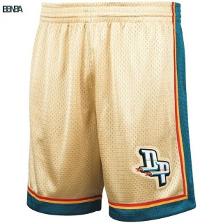 Pantalon Basket Detroit Pistons Or Hardwood Classics Outlet