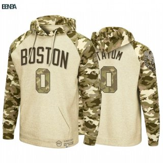 Hoodies NBA Boston Celtics NO.0 Jayson Tatum Camouflage Outlet