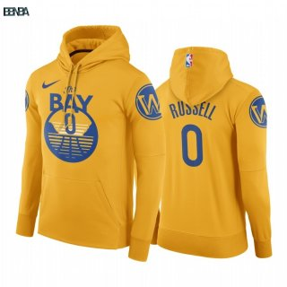 Hoodies NBA Golden State Warriors NO.0 D'Angelo Russell Or Outlet
