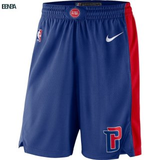 Pantalon NBA Detroit Pistons Bleu 2018 Outlet
