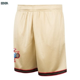 Pantalon Basket Philadelphia 76ers Or Hardwood Classics Outlet