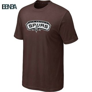 T-Shirt NBA San Antonio Spurs Marrón Outlet