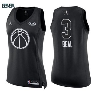 Maillot NBA Mujer 2018 All Star NO.3 Bradley Beal Noir Outlet