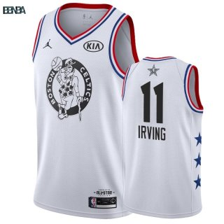 Maillot NBA 2019 All Star NO.11 Kyrie Irving Blanc Outlet