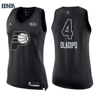 Maillot NBA Mujer 2018 All Star NO.4 Victor Oladipo Noir Outlet