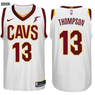 Maillot NBA Cleveland Cavaliers NO.13 Tristan Thompson Blanc 2017-18 Outlet