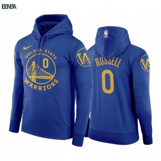 Hoodies NBA Golden State Warriors NO.0 D'Angelo Russell Bleu Outlet