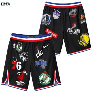 Pantalon NBA Supreme x Nike Logo Noir Outlet